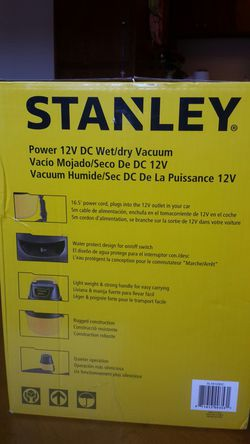 Stanley wet and dry car vacuum Thumbnail