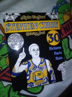 Steph Curry Coloring book for Sale in San Jose, CA