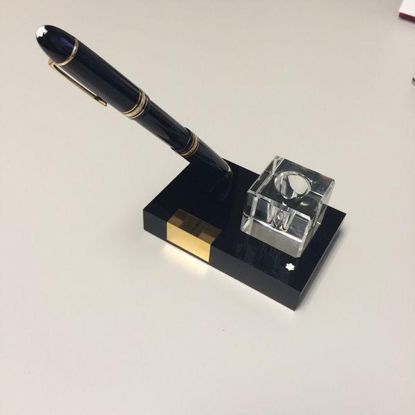 Peachy Vintage Mont Blanc Fountain Pen And Desk Stand For Sale In Westmont Il Offerup Home Interior And Landscaping Oversignezvosmurscom