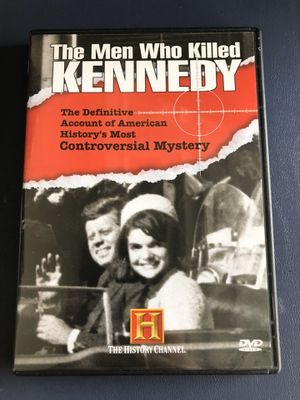 Photo The Men Who Killed Kennedy History Channel DVD Documentary President Mystery
