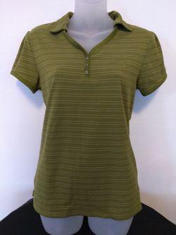 Medium The North Face Olive collar short sleeve shirt Thumbnail