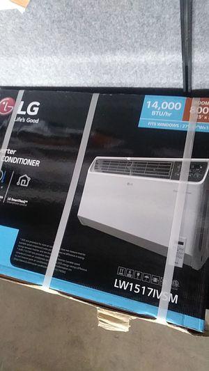 LG 14,000 BTU DUAL inverter smart wifi enabled window air conditioner for Sale in Detroit, MI