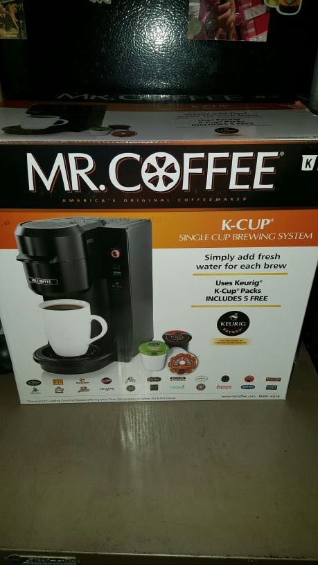 Mr Coffee K Cup Single Cup Brewing System For Sale In Seattle Wa