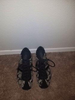 Authentic black coach shoes Thumbnail