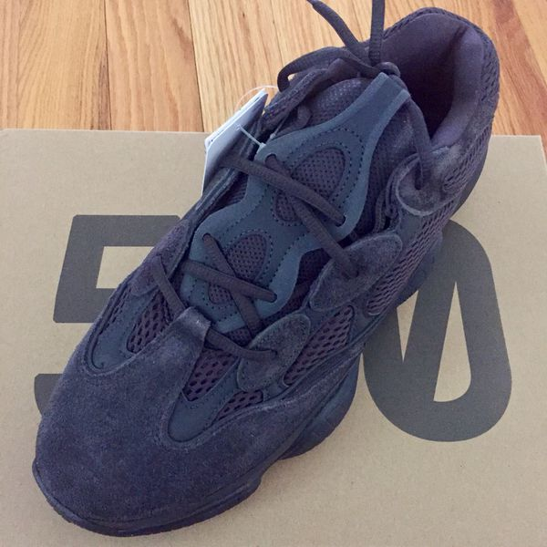 1b93bd738045f Adidas Yeezy Utility Black 500 Men s size 10 only for Sale in ...