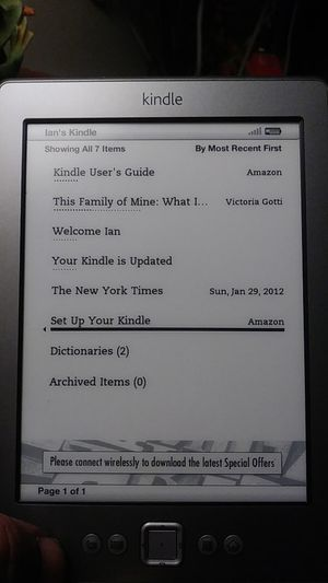 Amozon kindle 4th generation for Sale in Washington, DC
