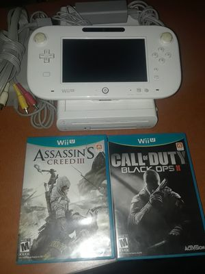 Nintendo Wii U and games for Sale in Culver City, CA
