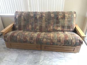 Futon sofa bed for Sale in Fairfax, VA