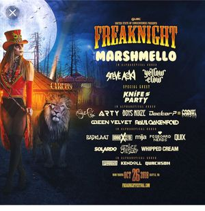 Freaknight Festival Ticket for 10/26/2018 at WaMu theater Seattle WA for Sale in Portland, OR