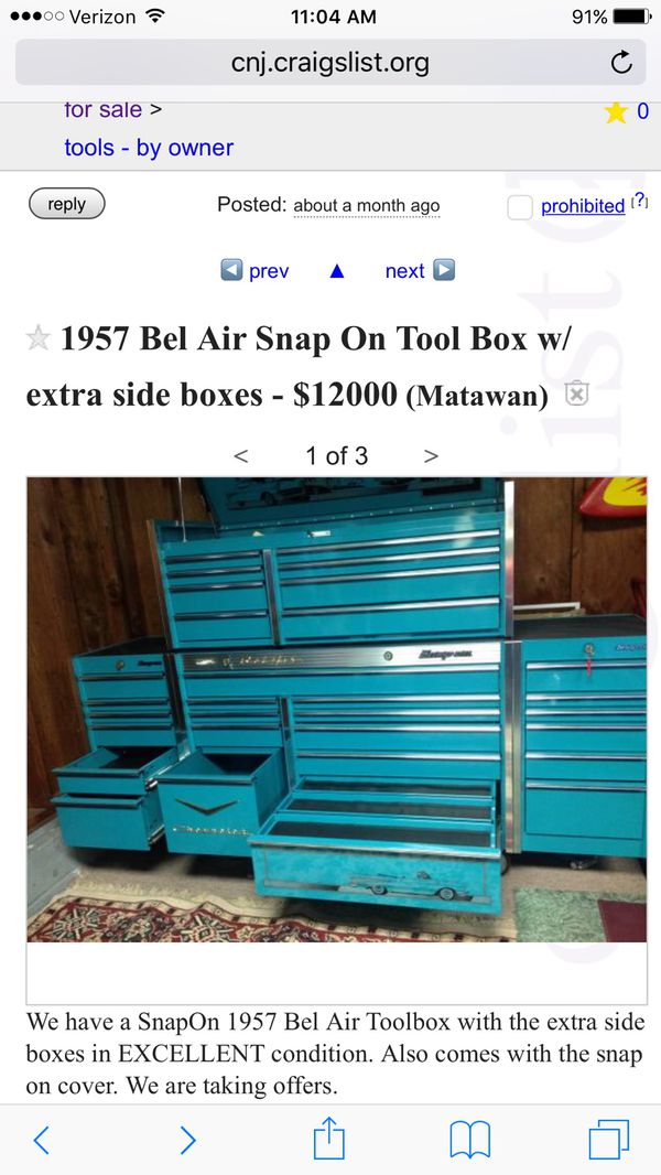 New and Used Snap on tools for Sale in Elizabeth, NJ - OfferUp
