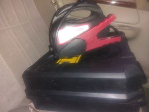 DeWalt nail gun with no battery or charger and Mac tools jump starter. for Sale in San Antonio, TX