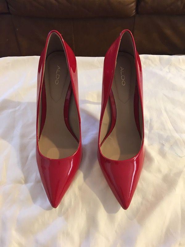 e5cb2d7ddbf Aldo Stessy K Patent Red Heels Size 9 for Sale in Virginia Beach