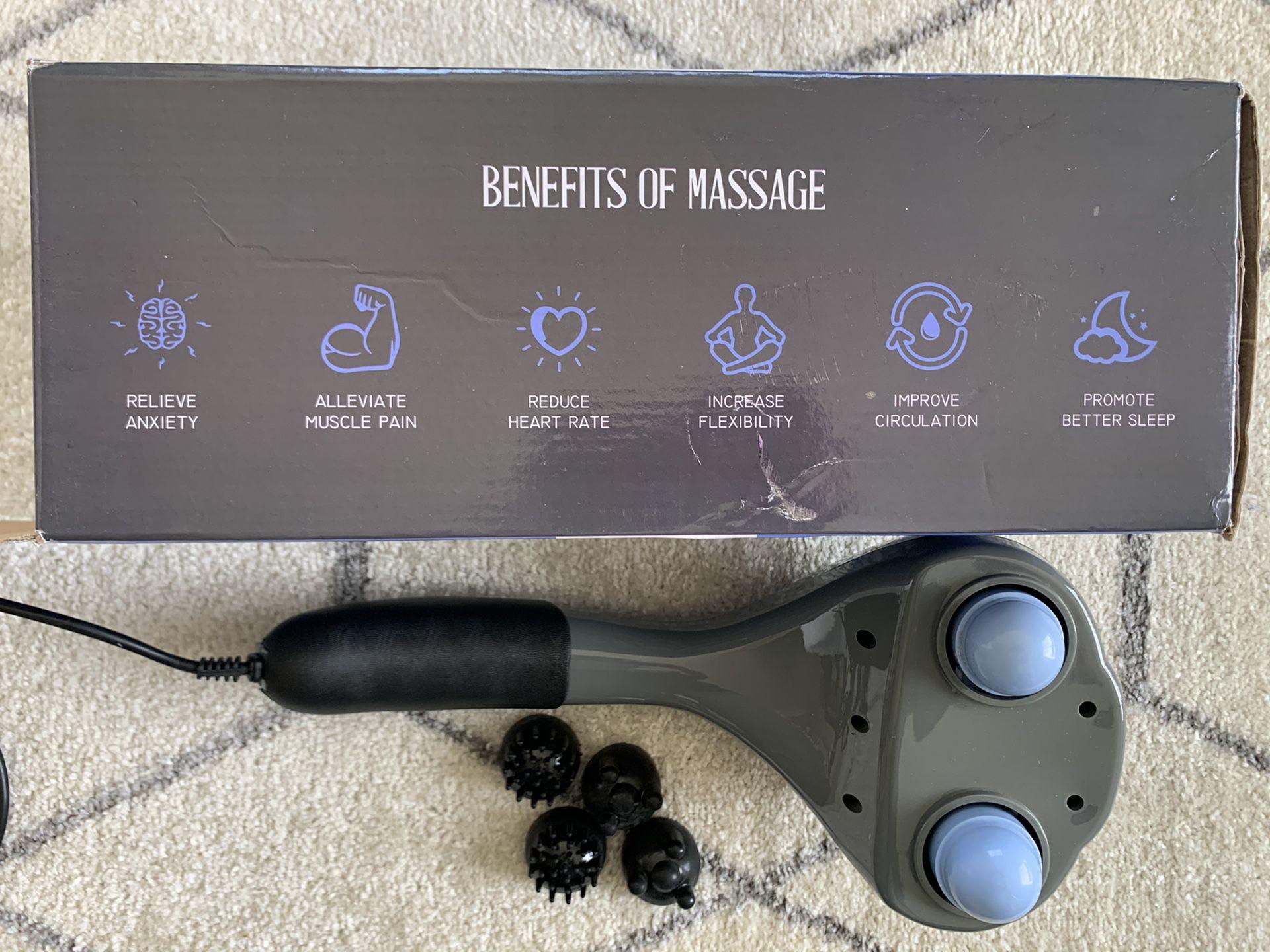 Handheld Body Massager. PRO Percussion Massager.