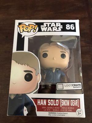 Funko Pop! #86 Han Solo (Snow Gear) - Star Wars! for Sale in Denver, CO