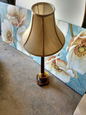 Moving out of storage Gold Antique Lamp for Sale in Glen Burnie, MD