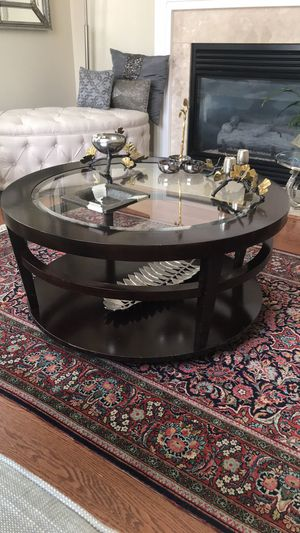 Coffee table,3ft diameter for 180$ for Sale in Vienna, VA