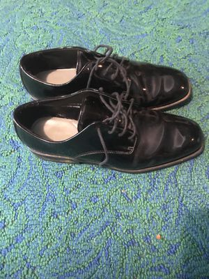 Black patent leather Tuxedo shoes size 10 Brand New never used for Sale in Vienna, VA