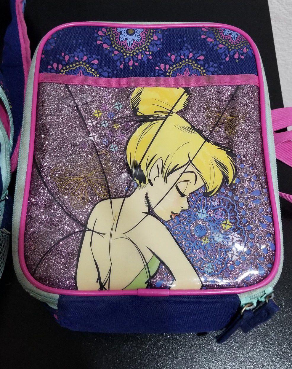 Tinkerbell School Bag & Lunch Box