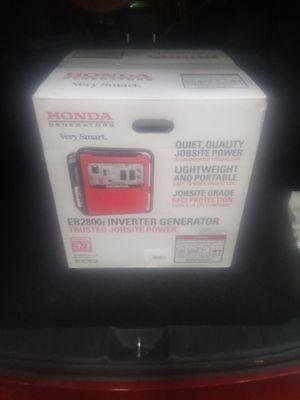 Honda 2800 watt inverter generator for Sale in Oxon Hill, MD