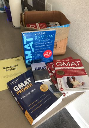 GMAT prep books for Sale in Austin, TX