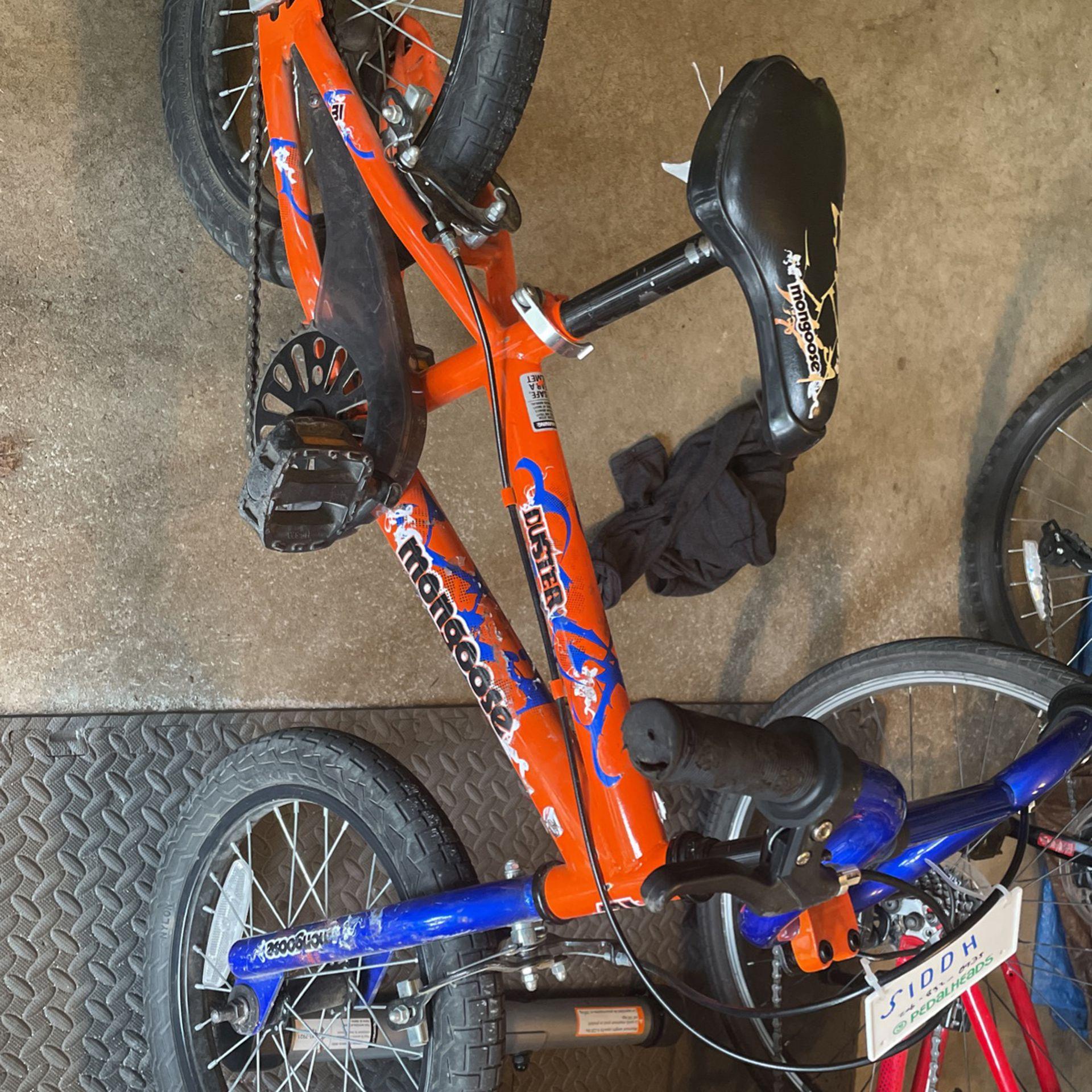 16 Inch Mongoose duster Bike