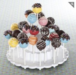 SQUARE Cake Pop Stand - used once Thumbnail
