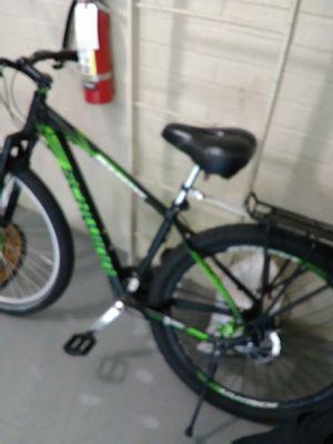 Schwinn black and neon green mountain male bike... for Sale in Washington, DC
