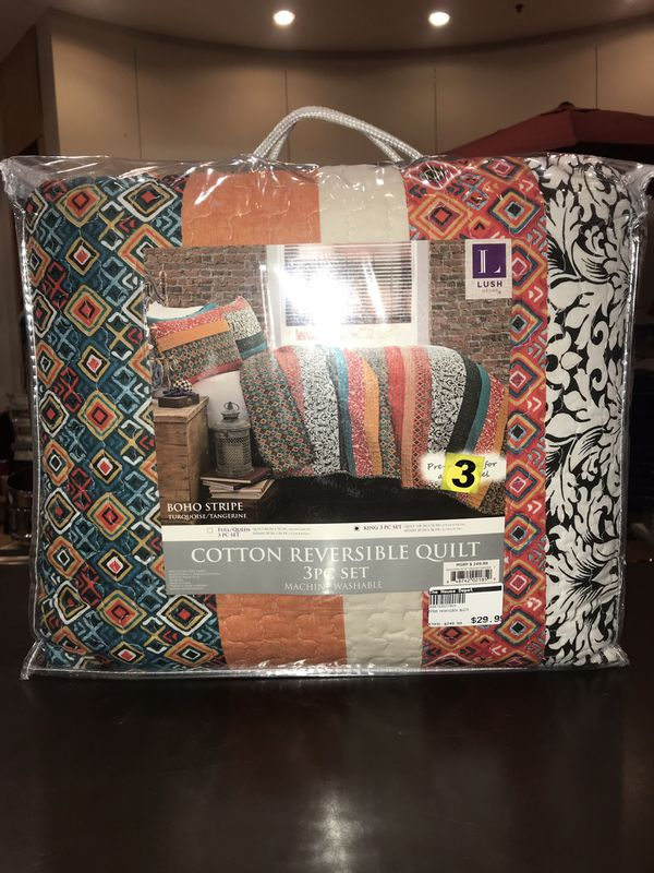 354055453af New Lush reversible quilt ONLY  29.99!! At The House Depot. Pasadena ...