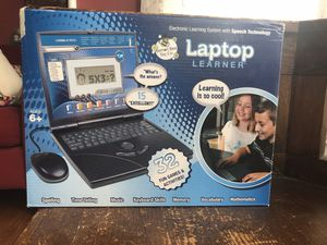 Kids laptop learner computer game for Sale in Newark, NJ