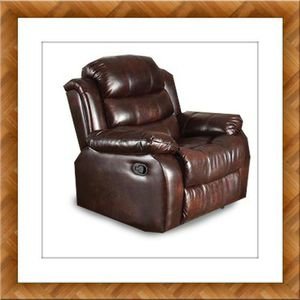 Burgundy recliner chair free delivery for Sale in McLean, VA