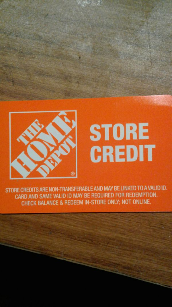 400 Home Depot Store Credit For Sale In San Leandro Ca Offerup