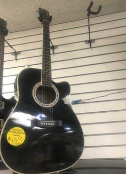 Esteban acoustic/electric guitar Thumbnail