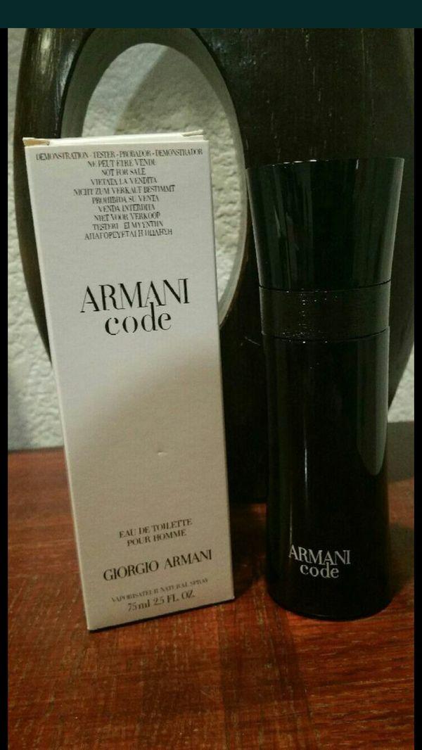 Armani Code By Giorgio Armani 25oz For Sale In Moreno Valley Ca