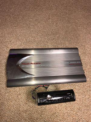 Cd pleyer power 1200 wats for Sale in Silver Spring, MD