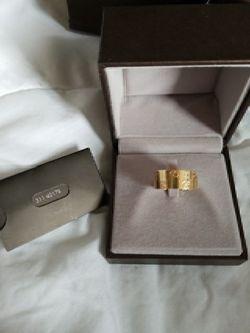 Men's Gucci ring 18k Thumbnail