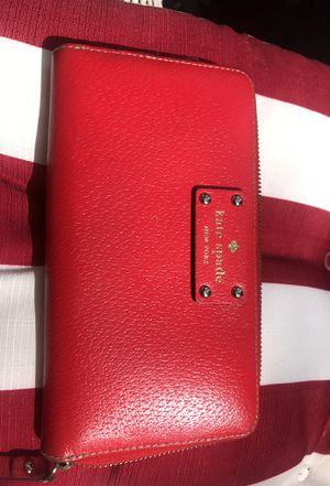 Red Kate spade wallet for Sale in Arlington, VA