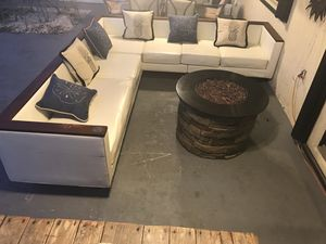 Patio Sectional & refrigerator for Sale in Homestead, FL