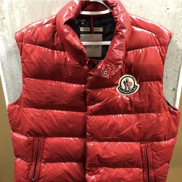 3890ed79f4e2 100% Authentic Men s MONCLER TIB Padded Gilet Down Puffy Vest for ...