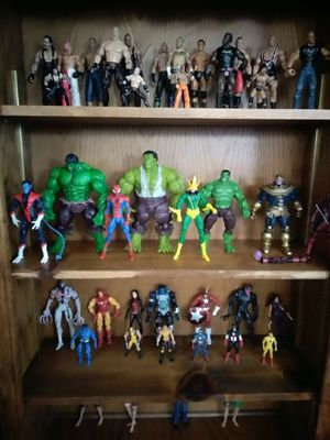 Wwe wrestlers and marvel legends for Sale in Lynwood, CA