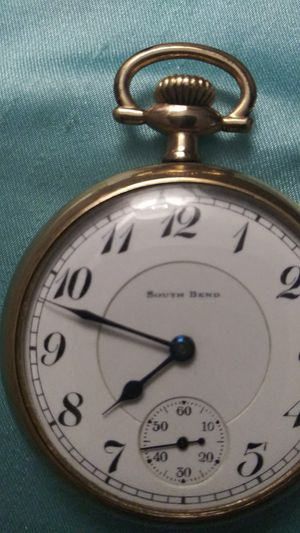 Photo Antique Pocket Watch