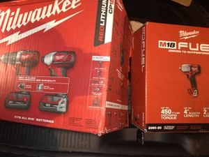 1/2 mid torque impact wrench and impact driver with drill for Sale in Germantown, MD