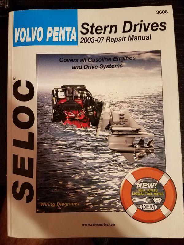 Volvo Penta repair manual for Sale in Ocala, FL - OfferUp