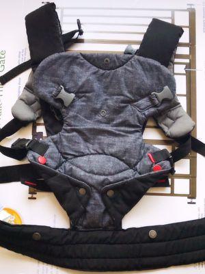 Gray Denim and Black Baby Carrier for Sale in Glen Allen, VA