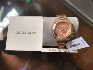 Brand new Michael kors rose gold watch ... price is firm for Sale in Glen Allen, VA