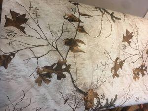 Snow/tree camo vinyl wrap (3m) for Sale in Edgewood, WA