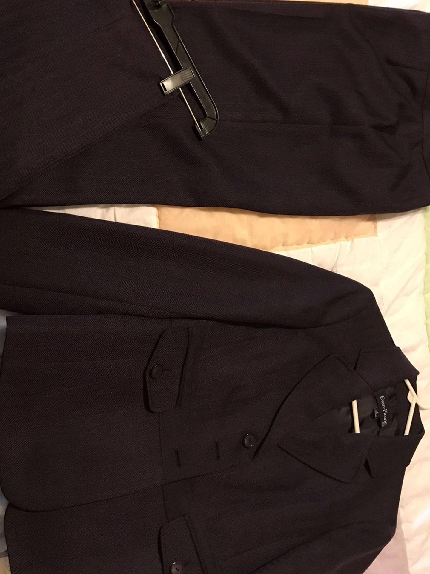 Purple Evan-Picone Suit Size 8