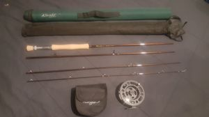 Albright fly fishing rod and matching reel for Sale in Auburn, WA