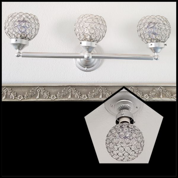 Faux Crystal Light Fixtures For Sale In El Paso, TX