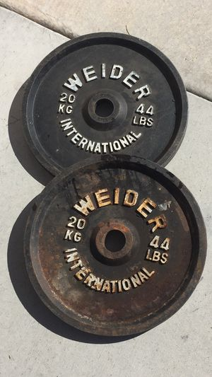 Photo Weider KG Olympic Weights