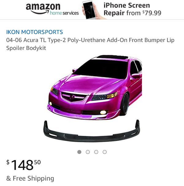 Front Lip For Acura TL For Sale In Clarksburg CA OfferUp - 99 acura tl front lip